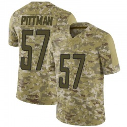 Anthony Pittman Detroit Lions Limited Camo 2018 Salute to Service Jersey - Men's