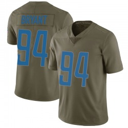 Nike Austin Bryant Detroit Lions Limited Green 2017 Salute to Service Jersey - Youth