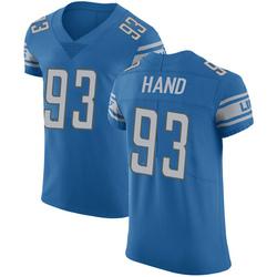 Da'Shawn Hand Detroit Lions Elite Blue Team Color Vapor Untouchable Jersey - Men's