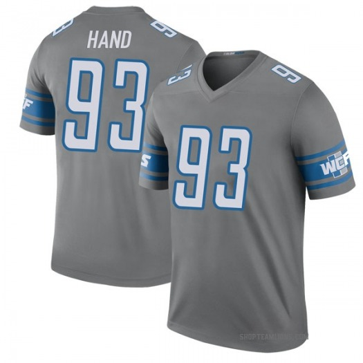 Nike Da'Shawn Hand Detroit Lions Legend Color Rush Steel Jersey - Youth