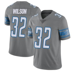 Nike Tavon Wilson Detroit Lions Limited Color Rush Steel Vapor Untouchable Jersey - Men's