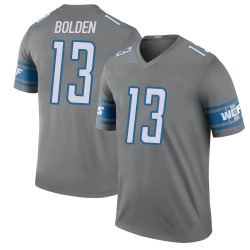 Nike Victor Bolden Jr. Detroit Lions Legend Color Rush Steel Jersey - Men's