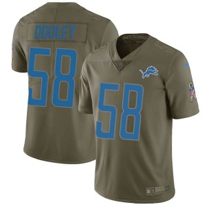 Nike Garret Dooley Detroit Lions Limited Green 2017 Salute to Service Jersey - Men's