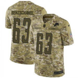 Nike Beau Benzschawel Detroit Lions Limited Camo 2018 Salute to Service Jersey - Youth