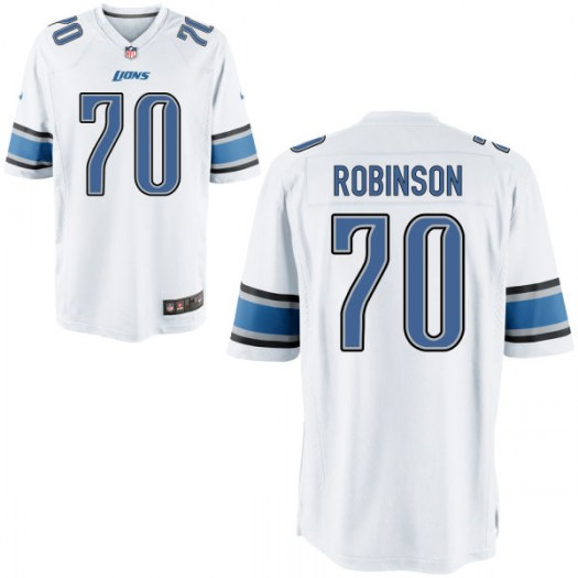Nike Corey Robinson Detroit Lions Game Jersey - Youth