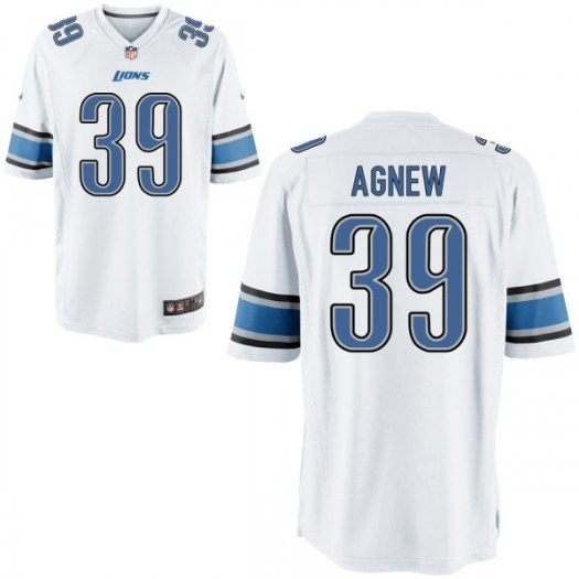 Nike Jamal Agnew Detroit Lions Game Jersey - Youth