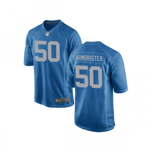 Nike Thurston Armbrister Detroit Lions Game Royal Alternate Jersey - Youth
